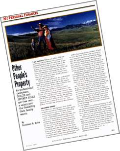 Image of a clipping from Kiplinger's Personal Finance Magazine